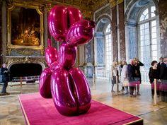 Jeff Koons at le Château de Versailles, Paris
