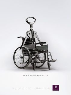Publicité - Creative advertising campaign - Don't drink and drive