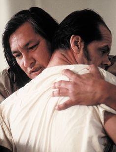 "Jack Nicholson & His Partner in Crime (Will Sampson) in ""One Flew Over the Cuckoo's Nest"" (1975)"