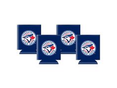 Mlb Toronto Blue Jays Blue Flat Neoprene Can Holder Blue Sports Merchandise, Can Holders, Toronto Blue Jays, Blue Flats, Buick Logo, Mlb, Walmart, Canada, Products