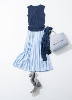 Girl Fashion Style, Modest Fashion, Skirt Fashion, Retro Fashion, Fashion Dresses, Fashion Design, Japanese Outfits, Japanese Fashion, Polyvore Outfits
