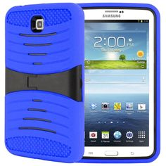 SAMSUNG GALAXY TAB 3 7.0″ P3200 CASE, HYBRID PROTECTIVE COVER W/ STAND (NAVY) | #tabletgadgets #tabletaccessories www.kuteckusa.com.