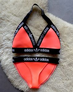 Reworked Handmade Adidas Lingerie or Fashion Bikini by Baewatch99
