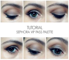 Tutorial com VIP Pass Palette da Sephora | New in Makeup