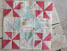 Sweetwater: Moda Friendship Quilt Along block {links to other quilt blocks in the quilt along at the bottom of post}