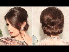 Como hacer un peinado de noche o boda paso a paso Solo para Estilistas by PHM - YouTube