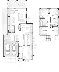 Standard floorplan for The Robson