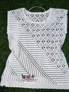 - Her Crochet Crochet Cardigan Pattern, Crochet Blouse, Knit Crochet, Crochet Patterns, Crochet Diagram, Crochet Chart, Fancy Bows, Easy Stitch, Crochet Woman