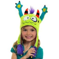 3382e48f093 Flipeez Funny Moving Kids Hats Ugly Dolls