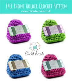 FREE Crochet Mobile Phone Holder Pattern | Crochet Arcade