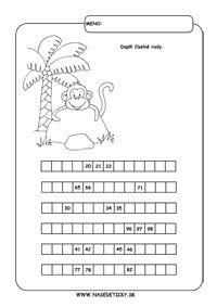 Pracovné listy pre druhákov - matematika Ale, Words, Ale Beer, Horse, Ales, Beer