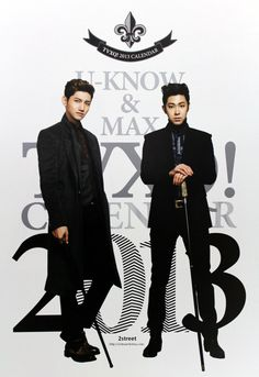 TVXQ 2013 Calendar Photo Collection