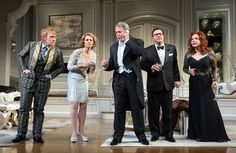 """The revival of Terrence McNally's """"It's Only a Play,"""" a Broadway star vehicle about a Broadway star vehicle, allows theatergoers to feel as though they're among the insiders."""