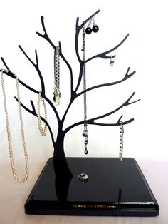 Contemporary Jewelry Tree/Memo Holder/Ornament by CCoStore on Etsy, $48.00