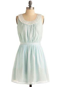 Out to Sea Foam Dress | Mod Retro Vintage Printed Dresses | ModCloth.com - StyleSays