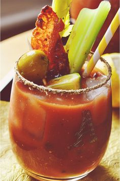 Candied Bacon Bloody Mary Bar