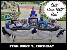 star wars birthday table