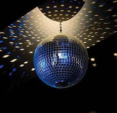 classic mirror ball takes you back to the times of lighted disco floors and roller skating parties! Available in three different sizes.