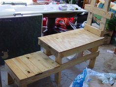 Dwarf Goat Milking Stand...can Alter for larger goats