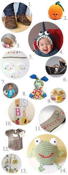 Cute & Modern Handmade Gifts for Babies