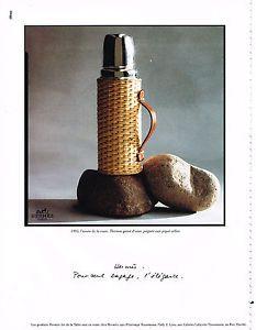 PUBLICITE-ADVERTISING-1995-HERMES-art-de-la-table-THERMOS-080513