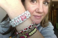I love my silver #breastcancer support bracelet from #HANDS and @Roozt.com! #ValentinesDayVIP