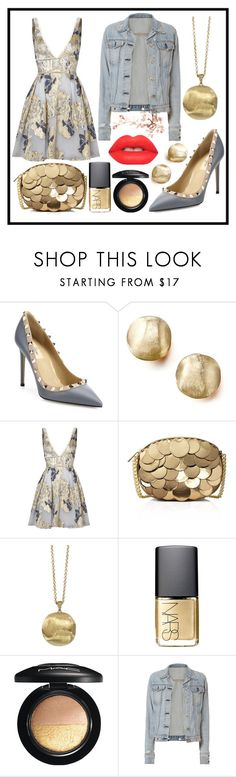 """Başlıksız #109"" by asena-cakmak on Polyvore featuring Valentino, Marco Bicego, Notte by Marchesa, MICHAEL Michael Kors, NARS Cosmetics, MAC Cosmetics, rag & bone and Lime Crime"