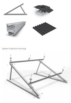 TRIANGLE SYSTEM - TRIANGLE SYSTEM - ALUMINIUM PHOTOVOLTAIC STRUCTURES -