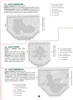 crochet - filet edgings - barrados / bicos filet - Raissa Tavares - Picasa Albums Web