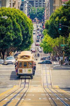 San Francisco, California Cable Car.. Amazing !! | HoHo Pics