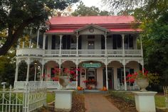 Gruene, Texas * Gruene Mansion Inn---have stayed there, would highly recommend
