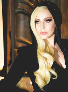 lady gaga | normal hair and makeup is way better