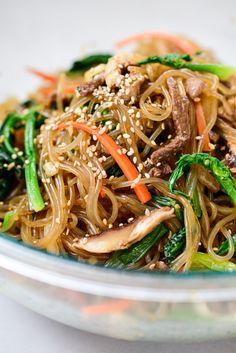 Noodle Recipes, Veggie Recipes, Asian Recipes, Beef Recipes, Cooking Recipes, Healthy Recipes, Ethnic Recipes, Japanese Recipes, Savoury Recipes
