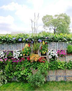 Image result for milk crate vertical garden