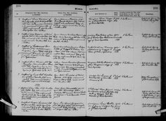 Johan Peter Oluf Arentzen -vielse med Anna Marie  Danmarks kirkebøger, 1813-1919 - MyHeritage