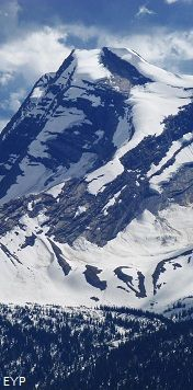 Heavens Peak, Swiftcurrent Pass Trail, Glacier National Park