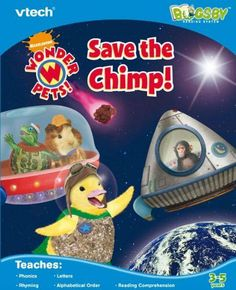 VTech Bugsby Reading System Book - Wonder Pets by V Tech. $18.99. From the Manufacturer                Join the Wonder Pets on a reading adventure. The phone is ringing in the Wonder Pets classroom! There's an animal in trouble! It's a baby chimp, who's lost in space. Join Linny the Guinea Pig, Turtle Tuck, and Ming-Ming the Duckling as they go on an exciting space adventure to save the baby chimp from hurtling meteors and other space dangers. What's going to work...