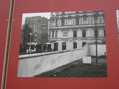Cafe Adler and Berlin Wall