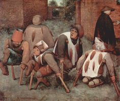 The Beggars Pieter Bruegel (1568) Here's an interesting painting from one of my favorite dutch painters. I selected it because I liked it but also because the meaning of the scene, particularly the fox tails is uncertain. Many hypotheses have been...