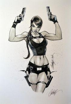 J. Scott Campbell - Lara Croft