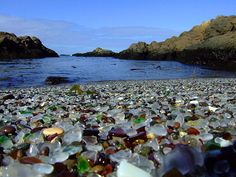 Sea Glass Beach looks like heaven to me. Love sea glass!