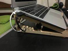MDF laptop stand