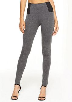 You can never have too many leggings. Elastic Inset Ponte Legging - Alloy Tall - Alloy Apparel
