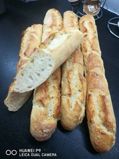 Baguette, Bread, Cookies, House, Food, Bakken, Crack Crackers, Home, Brot