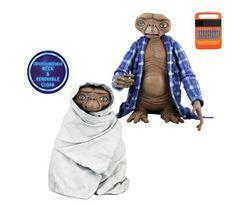 Figuras ET El Extraterrestre con manta | Merchandising Películas
