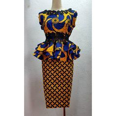 "255 Likes, 11 Comments - House of Koyo (@houseofkoyo) on Instagram: ""Ankara in all its gorgeousness! You know the drill, DMs are open - - Details: Two piece, blouse…"""