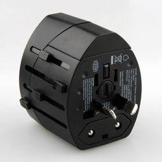3f57d817e19e5 ... بعرض فيش كهرباء ذكي لأغراض السفر مميزات الجهاز   • جودة عالية في  الصناعة. • يدعم أنظمة الكهرباء الأوربية والأمريكية والآسيوية. • يوجد به مدخلين  USB لشحن ...