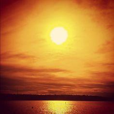Sunset Summer Ocean Water Seatte