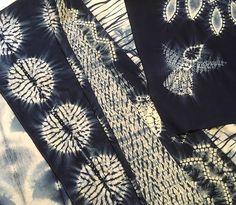 Shibori by Susan Fennell ~ yukata project | Flickr
