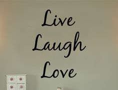 BECAUSE SOMEONE WE LOVE IS IN HEAVEN Wall Sticker Bedroom Quote - Wall decals live laugh love